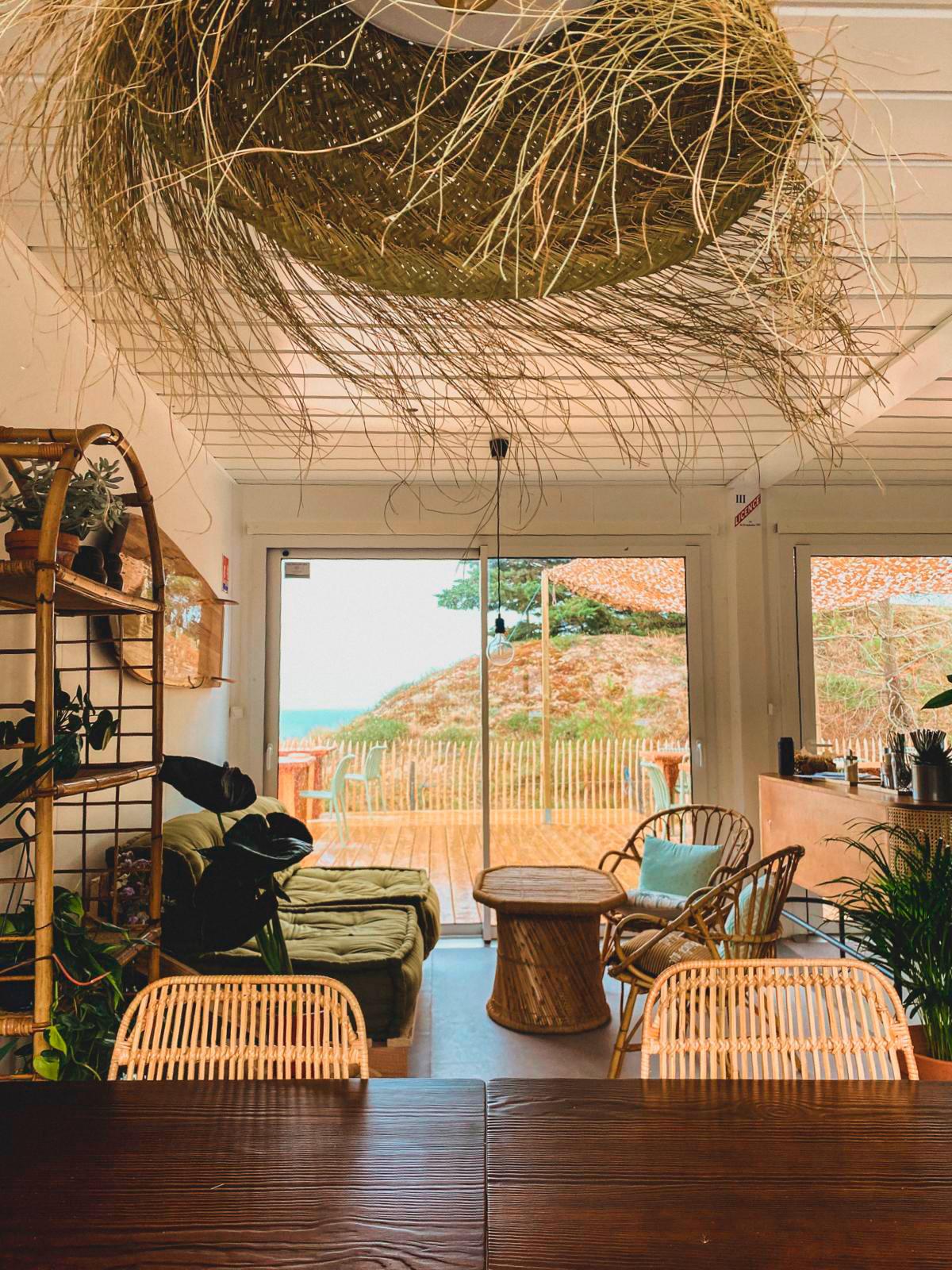 Moments, café restaurant à l'ambiance zen et cocooning l'été en Vendée